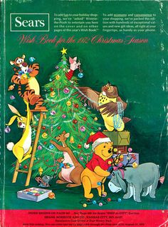 Cover of the Sears Christmas Wish Book 1972.