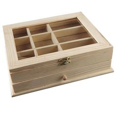 Artminds® Wood Jewelry Box