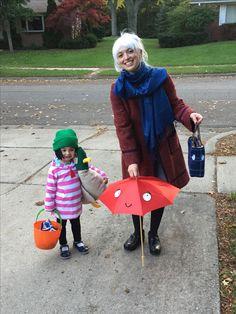 Sarah & Duck, Scarf Lady & Umbrella