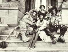 Ted Ross, Nipsey Russell, Michael Jackson & Diana Ross in The Wiz (1978)