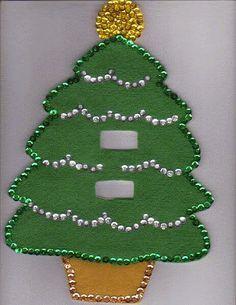 Resultado de imagen para moldes para apagador de navidad en fieltro bf6af7e7334