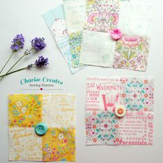 Charise Creates: Lavender Sachet Tutorial