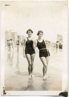 Summertime in the 1920s.