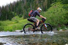 Salsa Deadwood water crossing...