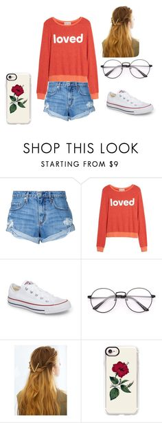 """carnival day"" by jayjay200500602 on Polyvore featuring beauty, Nobody Denim, Dream Scene, Converse, WithChic and Casetify"