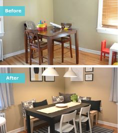 Flexible Seating And Improved Storage Space Created The Perfect Dining Room  For The Chan Family U2013 Even When They Were Entertaining Guests!