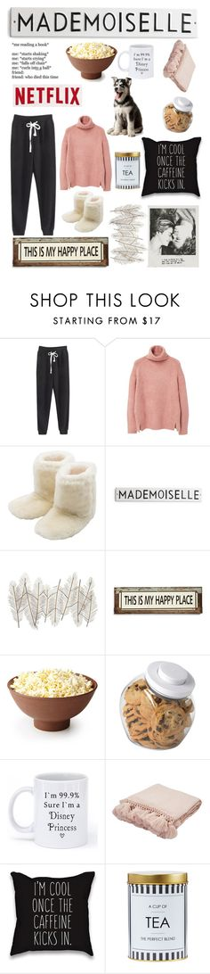 """Lazy Day"" by cweyk ❤ liked on Polyvore featuring MANGO, M&Co, Universal Lighting and Decor, Poncho & Goldstein, OXO, Disney, Jaipur, women's clothing, women and female"