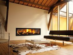 Gigafocus Fireplace by Cheminée Design
