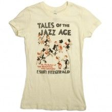 Tales of the Jazz Age tee for women from Out of Print Clothing <3 ... In love with F. Scott Fitzgerald
