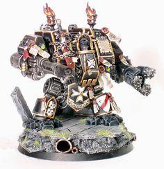 Image result for black templar dreadnought