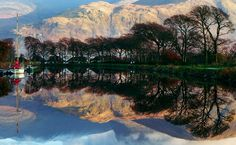 Reflections of Ben Nevis in the Caledonian Canal by jwnma on 500px