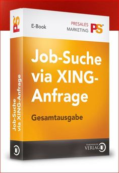 """Finden Sie neue berufliche Herausforderungen über XING  Nirgends lassen sich so gut neue Jobs finden wie auf XING! Aber kennen Sie sich auch mit den Tricks der Jobsuche auf Deutschlands größtem Business-Portal aus? Das E-Book """"Jobsuche via XING"""" unterstützt Sie bei Ihrer Suche nach passenden Jobs und neuen Herausforderungen. Bestellen Sie das E-Book jetzt für 12,95 Euro inklusive Mehrwertsteuer!"""