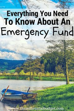 Everything You Need to Know About An Emergency Fund | Emergency Funds are the… Ways To Save Money, Money Tips, Money Saving Tips, Financial Tips, Financial Planning, Living On A Budget, Frugal Living, Managing Your Money, Budgeting Tips