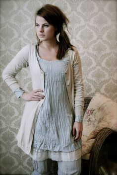 Long tunic for summer - Culture