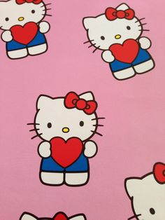 Hello kitty wrapping paper <3
