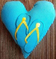 Hier mein 118 Herz für Dich: Mit Flip Flops um die Welt