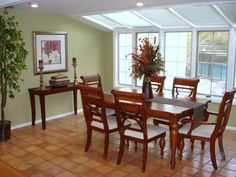 Terracotta Color Schemes   An additional color challenge was in the dining room with the terra ...