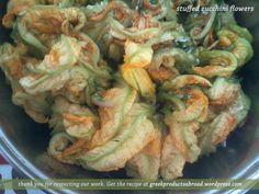 zucchini blossoms - #recipe #greek