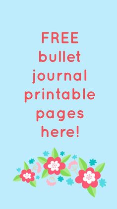 These adorable FREE printable BUJO pages are the perfect way to discover if bullet journaling is for you! Available in four different printing sizes, you're sure to find just the one you need for your binder! Click now and download today! #freebies #freeprintables #printables #freebulletjournalpages #bujo #printableplanner