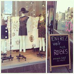 Onze Boutique | À la mode Montréal #montreal #fashion #dresses #store