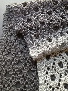 Reversible Circles of Lace free pattern