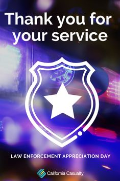 Happy Law Enforcement Appreciation Day to all of our courageous and hard-working men and women! Thank you for your service Happy Law Enforcement Appreciation Day to all of our courageous and hard-working men and women! Thank you for your service