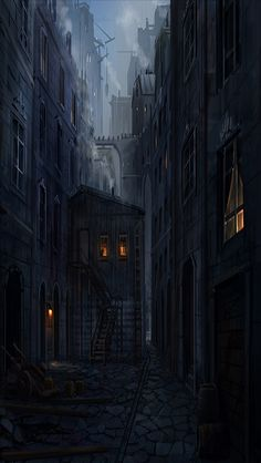 EXT. DARK ALLEYWAY SMALL #EpisodeInteractive #Episode Size 640 X 1136 #EpisodeOurCrazyLoveLife