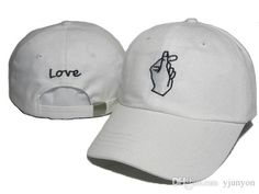 Cheap Wholesale LOVE Gesture Adjustable Hats Strapback Hats Baseball Caps Gesture Curved Brim LOVE Caps Village Truck Driver Hats Online with $10.06/Piece on Yjunyon's Store   DHgate.com