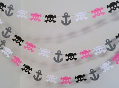 Pink Pirate Party / Girls Pirate Party by anyoccasionbanners