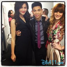 "Bella Thorne And Zendaya With Roshon Fegan At ""Dancing With The Stars"" March 19"