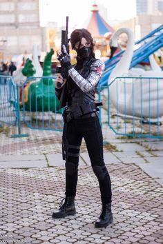 fem! Winter Soldier by MarcyFromMars.deviantart.com on @deviantART                                                                                                                                                     More