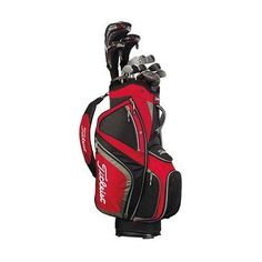With a divider, multiple pockets & easy-lift handles, the Titleist Lightweight Cart Bag is an essential for serious golfers. Taylormade, Golf Bags, Cart, Accessories, Covered Wagon, Strollers, Jewelry Accessories