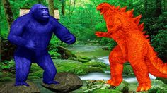 Gorilla Vs Godzilla Fight | Godzilla Cartoons For Children | Godzilla Fighting For Kids | Toddlers https://youtu.be/qPtwj-9tiOY