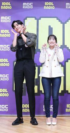 Korean Drama Stars, Korean Drama Romance, Hi School Love On, Korean Couple Photoshoot, Park Bogum, Park Seo Joon, Good Comebacks, Asian Celebrities, Anime Couples Manga
