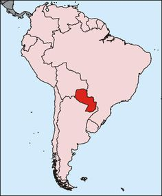 For everyone that thinks Paraguay is in Africa, or next to Portugal....here you go
