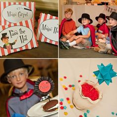 Love the idea of a magic party.  Could I convince James to go for it?