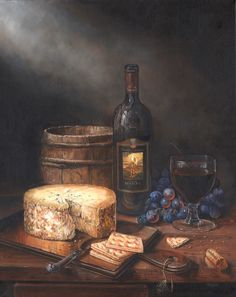 Oil painting for Banfi Wines - one of three. Work In New York, Learning Courses, Victoria And Albert Museum, The Body Shop, Book Activities, Habitats, Wines, Behance, Oil