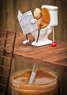 How peanut butter is made; I will never look at PB the same way again...