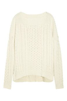 Marc by Marc Jacobs Geraldine Cable-knit Sweater