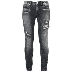 "Rise Against Jeans, Women ""R.E.D. by EMP Signature Collection"" black • EMP"