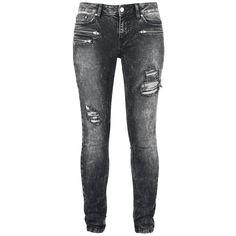 "Rise Against Jeans, Women ""R.E.D. by EMP Signature Collection"" black • EMP"