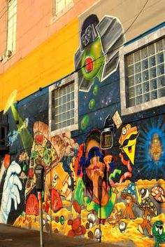 Graffiti Street Art, Dallas, TX