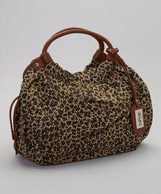 a96346d2f87 Brown   Black Leopard Tote La Manera Del Leopardo, Elegante Sin Esfuerzo,  Bolso Mochila