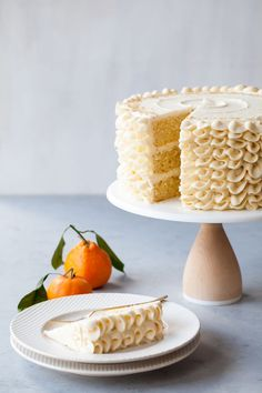 Champagne Mimosa Cake /