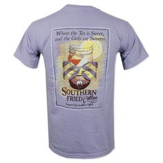 d612fa0a Southern Fried Cotton Sweet Tea T-Shirt -Purple #southernfriedcotton # southern #southerngirl