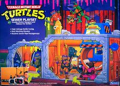 The original TMNT Sewer Lair