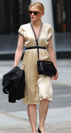 CATE BLANCHETT- SUMMER STREET CHIC!...I Know I Can't Afford It...But I Can Buy A Knock-Off...Love It...!!