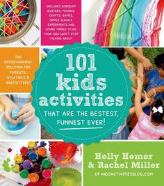 Making Popsicle Stick People and a Giveaway for the NEW Book from Holly Homer and Rachel Miller: 101 Kids Activities That Are The Bestest, Funnest, Ever! Kids Activity Books, Indoor Activities For Kids, Games For Toddlers, Stem Activities, Learning Activities, Crafts For Kids, Toddler Activities, Summer Kid Activities, Babysitting Activities