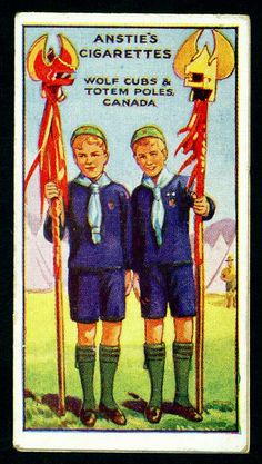 Cigarette Card - Scout Series #50 by cigcardpix, via Flickr