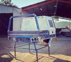 Specialising in customised trays and dog boxes as well as other metal fabrication and engineering. Mild stainless and aluminium No job too big or small Off Road Camper Trailer, Truck Bed Camper, Custom Truck Beds, Custom Trucks, Headache Rack Trucks, Custom Ute Trays, Flatbed Truck Beds, Ute Canopy, Truck Mods